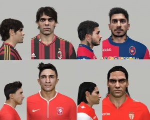 Download PES 2014 Facepack vol.1 By NazhoPalma