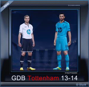 PES 2014 Tottenham Hotspur 2013-2014 GDB by G-Style
