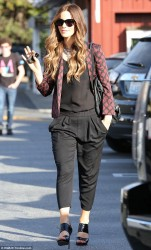 Kate Beckinsale - out in Brentwood 12/16/13