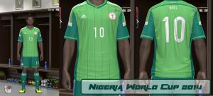 pes 2014 Nigeria World Cup 2014 GDB v1 by ABIEL
