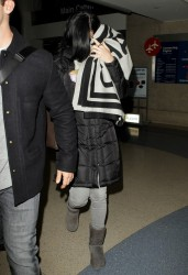 Katy Perry - At LAX Airport 12/18/13