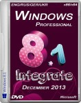Windows 8.1 Professional Integrate December 2013 (ENG/RUS/GER/UKR/x86/x64)