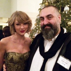 Taylor Swift  -  Society of Composers & Lyricists Holiday party  in L.A. 12/18/13