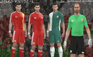 PES Wales 2013-2014 Kit By Mahmoud Ibrahim