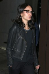 Jordana Brewster - at Craig's Restaurant in West Hollywood 12/21/13