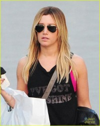 Ashley Tisdale - out in LA 12/21/13