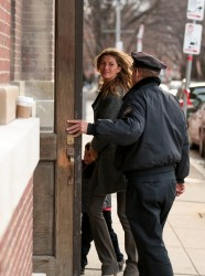 Gisele Bündchen - out in Boston 12/24/13