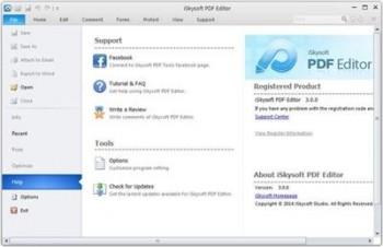 iSkysoft PDF Editor 3.0.0.2