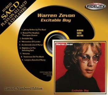Warren Zevon - Excitable Boy (2013)