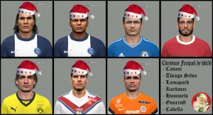 PES2014 Christmas Facepack by hhh56