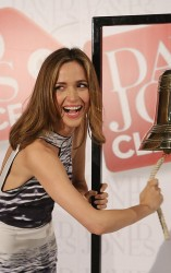 Rose Byrne - David Jones store Boxing Day sale opening in Sydney 12/26/13