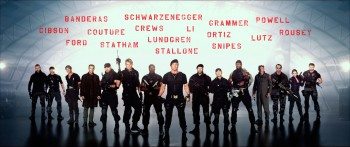 Неудержимые 3 / The Expendables 3 (Сильвестр Сталлоне, Джейсон Стейтем, Дольф Лундгрен, Дольф Лундгрен, Мел Гибсон, Харрисон Форд, Арнольд Шварценеггер, 2014) F45737297291409