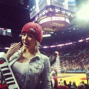 Sara Underwood - At Blazers Game 12/27/13