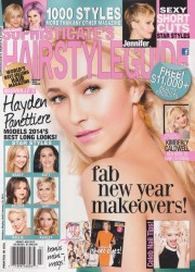 Hayden Panettiere in Sophisticate�s Hairstyle Guide - March 2014