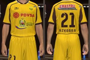 Download PES Trujillanos FC 2014 GDB Kits by silasmendes