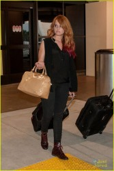 Debby Ryan at LAX Airport 1/1/14