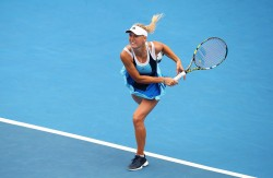 Caroline Wozniacki - 2014 Sydney International 1/7/14