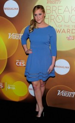Amy Schumer - 2014 Variety Breakthrough Of The Year Awards in Las Vegas 1/9/14
