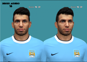Download Sergio Aguero Face by Jack