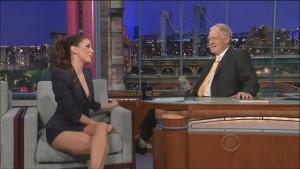 Eva Longoria Late Show with David Letterman