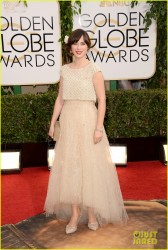 Zooey Deschanel - 71st Annual Golden Globe Awards 1/12/14