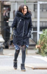 Rachel Bilson - out in NYC 1/13/14
