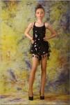 ... Daria M Model - Black Shiny Dress • Other Agencies → Models Forum