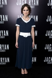 "Keira Knightley - ""Jack Ryan: Shadow Recruit"" Premiere in Hollywood 1/15/14"