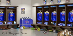 PES 2014 Arema Cronus Locker Room By Fidzh