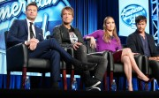 "Jennifer Lopez @ ""American Idol"" Panel during FOX TCA Tour in Pasadena 
