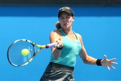 Eugenie Bouchard - 2014 Australian Open in Melbourne 1/17/14