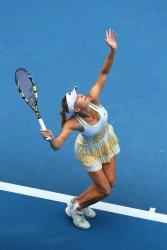 Caroline Wozniacki - 2014 Australian Open in Melbourne 1/18/14