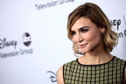 Samaire Armstrong - ABC 2014 Winter TCA Tour in Pasadena 1/17/14