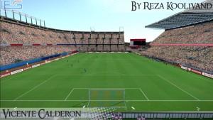 PES 2014 Vicente Calderón Stadium By Reza Koolivand