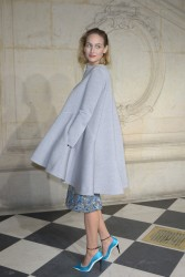 Leelee Sobieski - Christian Dior fashion show in Paris 1/20/14