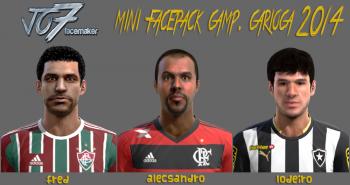 PES 2013 Mini Facepack Camp. Carioca 2014 by jo7facemaker