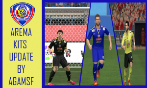 PES 2014 Arema Cronus 2013/2014 Kits Update By AGAMSF