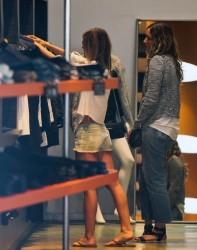 Audrina Patridge - Shopping in Beverly Hills 1/21/14