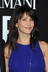 Sophie Marceau - Giorgio Armani Prive fashion show in Paris 1/21/14