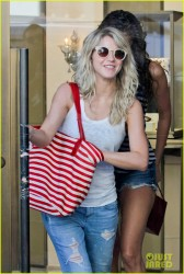 Julianne Hough - Leaving Cartier in Beverly Hills 1/20/14