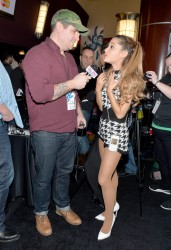 Ariana Grande at The Grammys Westwood One Radio Remotes in Los Angeles on January 23, 2014