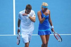 Kristina Mladenovic - 2014 Australian Open in Melbourne 1/24/14