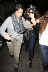 Selena Gomez - Leaving Nine Zero One Salon in West Hollywood 1/24/14