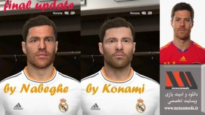Xabi Alonso Pes2014 Face by Nabeghe