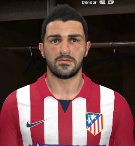 Download David Villa Face by n1c4t
