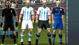 Download Argentina WC 2014 kit by Pakdhe