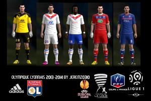 PES 2013Olympique Lyonnais 2013-2014 Kits