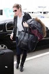 Erin Andrews - at LAX Airport 1/26/14