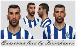 PES 2014 Quaresma Face
