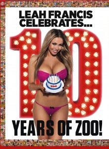 Zoo Magazine - Leah Francis Celebrates 10 Years of ZOO! (2014)